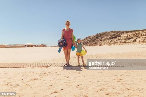 En las vacaciones con mi madre