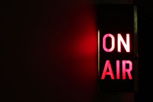 On Air Sign 105626271
