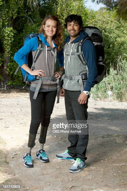 On and Off Daters Amy Purdy and Daniel Gale of THE AMAZING RACE premiering Sunday September 30 on the CBS Television Network Emmy Award nominee Phil...