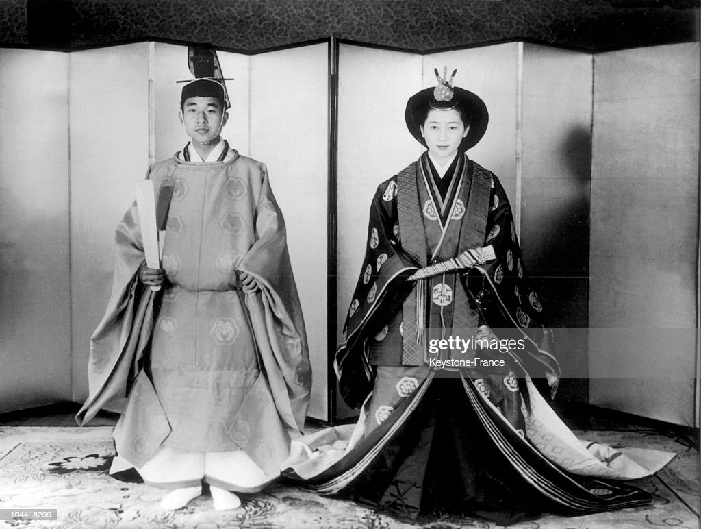 Wedding Of Prince Akihito And Michiko 1959 : News Photo