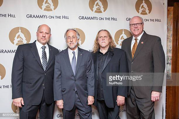 On April 13th at The Hamilton lr John Poppo RECORDING ACADEMY President/CEO NEIL PORTNOW Warren Haynes and honoree Congressman Joe Crowley at The...