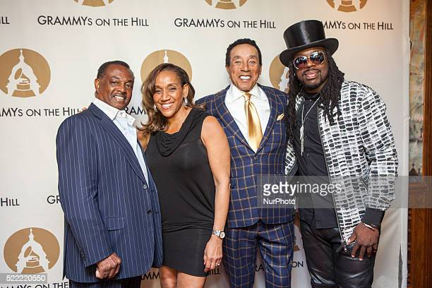 On April 13th at The Hamilton lr Robert Earl quotKoolquot Bell Kathy Sledge Smokey Robinson and Noel quotDetailquot Fisher at The Recording...