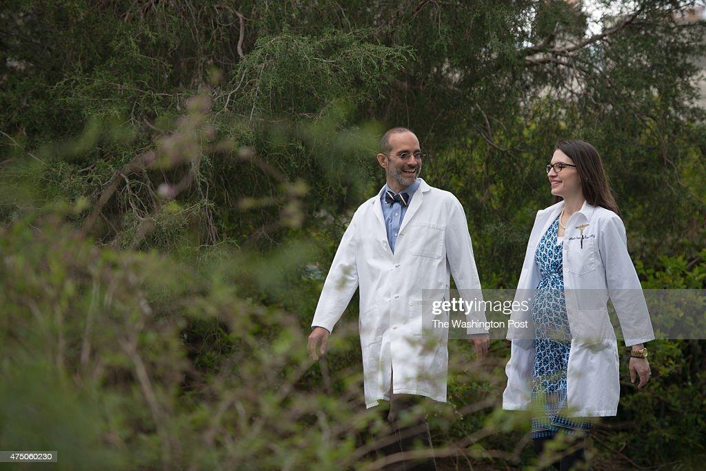 Unity Health Care pediatrician Dr  Robert Zarr and Dr  Marie    News