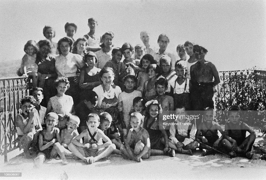 Izieu'S Children In 1943-1944 : News Photo