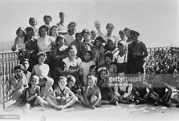 On April 6Th 1944 Gestapo From Lyon Under The Authority Of Klaus Barbie Arrests 44 Jewish Children And Their 7 Teachers In Izieu Into The Colony...