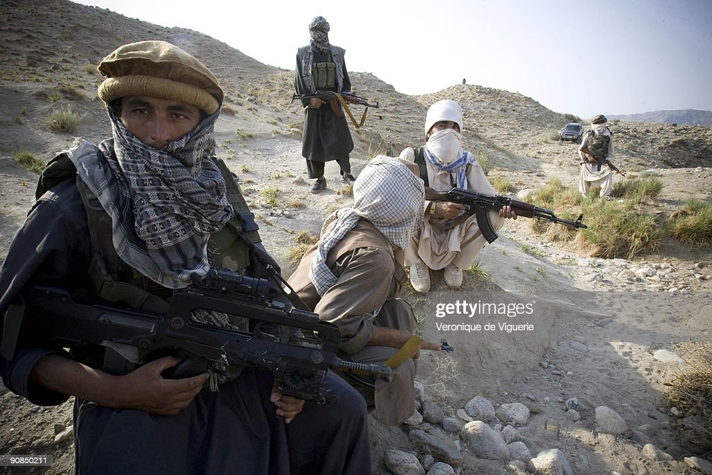 Taliban Insurgents in Afghanistan : News Photo
