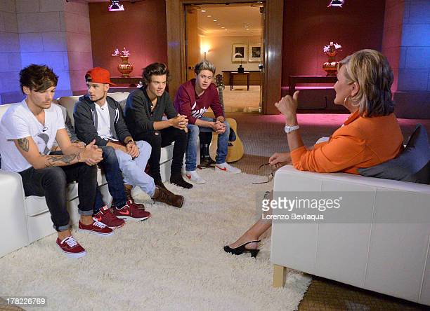 NIGHTLINE On August 25th the UK boy band sensation One Direction sat down for a NIGHTLINE interview with Walt Disney Television via Getty Images's...
