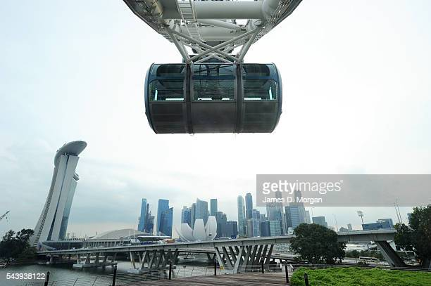 On board the worlds tallest ferris wheel The Singapore Flyer on March 08 2011 in Singapore The Singapore Flyer is currently the tallest ferris wheel...