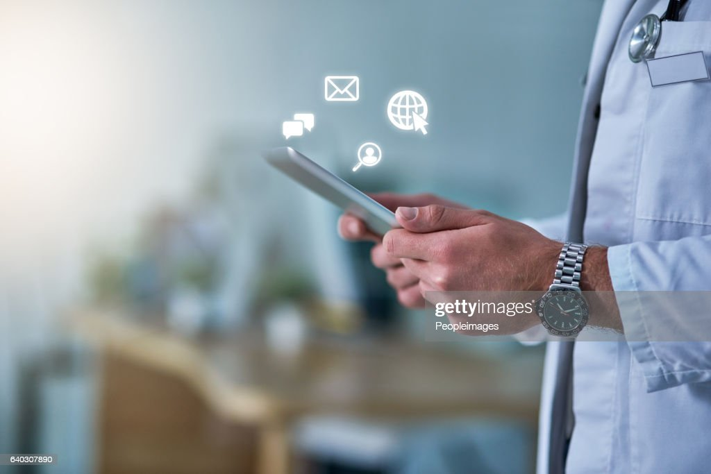 On call, online : Stock Photo