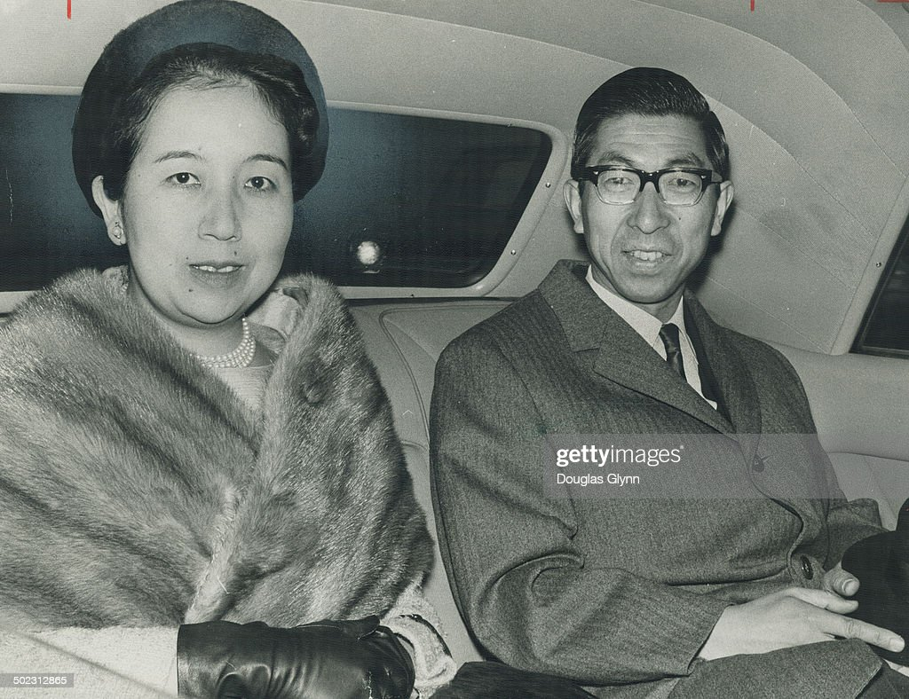 On Canadian tour which also includes Montreal; and Ottawa are Prince Takahito Mikasa and Princess Yu : News Photo