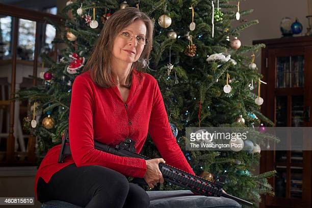 On Christmas the love of her life gave Terri Gallagher a modified AR15 in Fairfax VA on December 14 2014 He made it with his own hands made it to fit...
