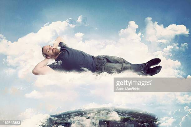 on cloud nine - scott macbride stock pictures, royalty-free photos & images