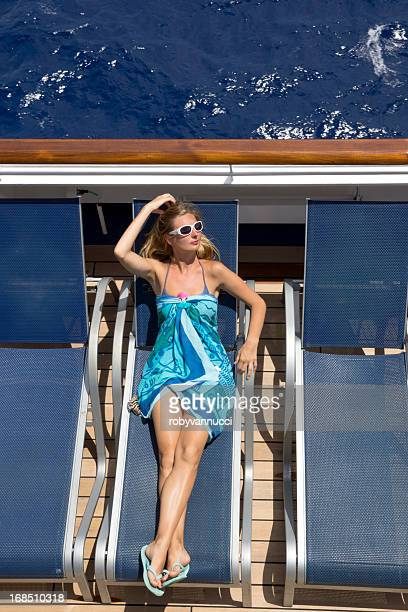 on cruise...like a star - boat deck stock pictures, royalty-free photos & images