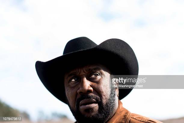 On day 18 of the partial government shutdown fourth generation crop farmer John Boyd and president of the Black Farmer's Association checks the...