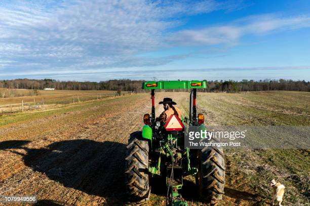 On day 18 of the partial government shutdown fourth generation crop farmer John Boyd and president of the Black Farmer's Association plants winter...