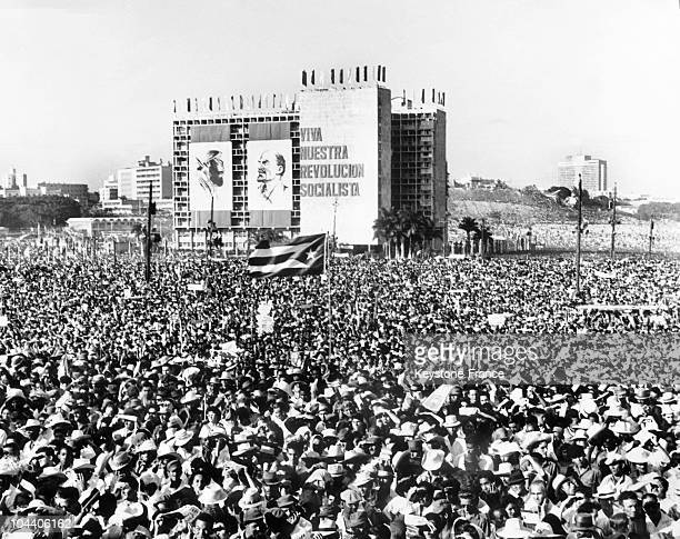 On December 29 a month and a half affter the Cuban Missile Crisis one million Cubans gathered on the main square in Havana after the call launched by...
