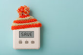 SAVE on digital room thermostat with wooly hat