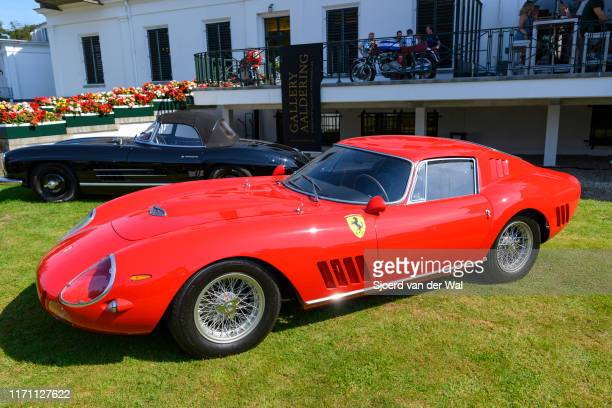 on display at the 2019 Concours d'Elegance at palace Soestdijk on August 25 2019 in Baarn Netherlands This is the first time the Concours d'Elegance...