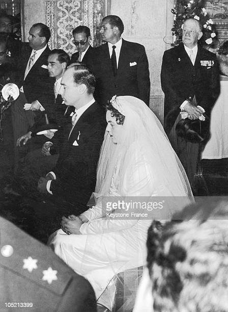 On February 12 Prince Alexander The Son Of Prince Paul Of Yugoslavia Married Princess Maria Pia Of Savoy The Daughter Of Former Italian King Humbert...