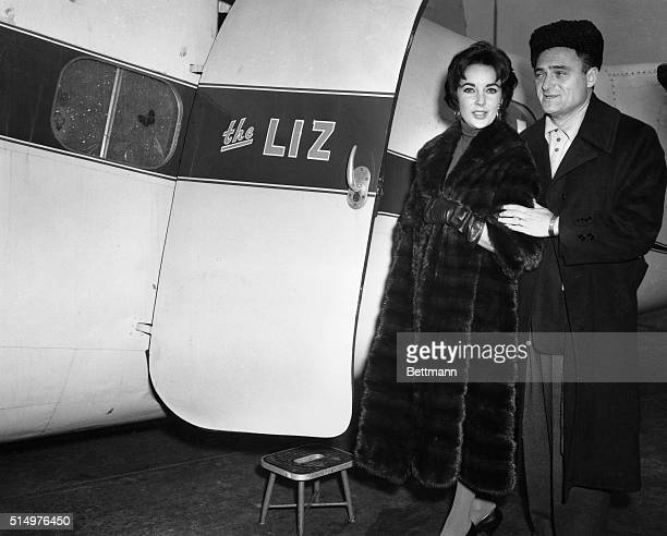 On February 15 Elizabeth Taylor and her husband producer Mike Todd board his private plane named 'The Liz' which crashed a month later killing Todd...