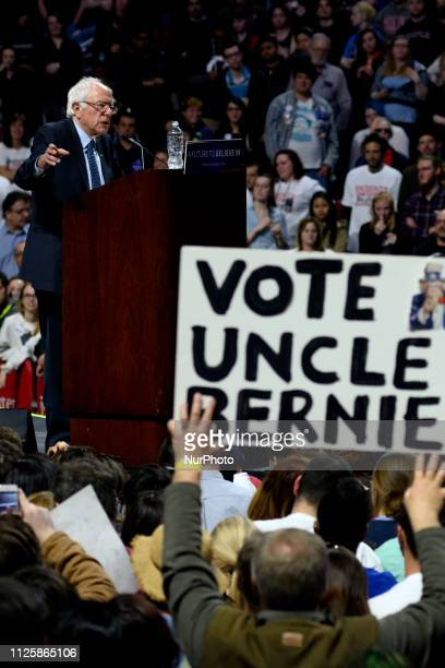 On February 19 2019 Bernie Sanders announced to run a campaign for the 2020 Presidential Elections Independent US Senator from Vermont Bernie Sanders...