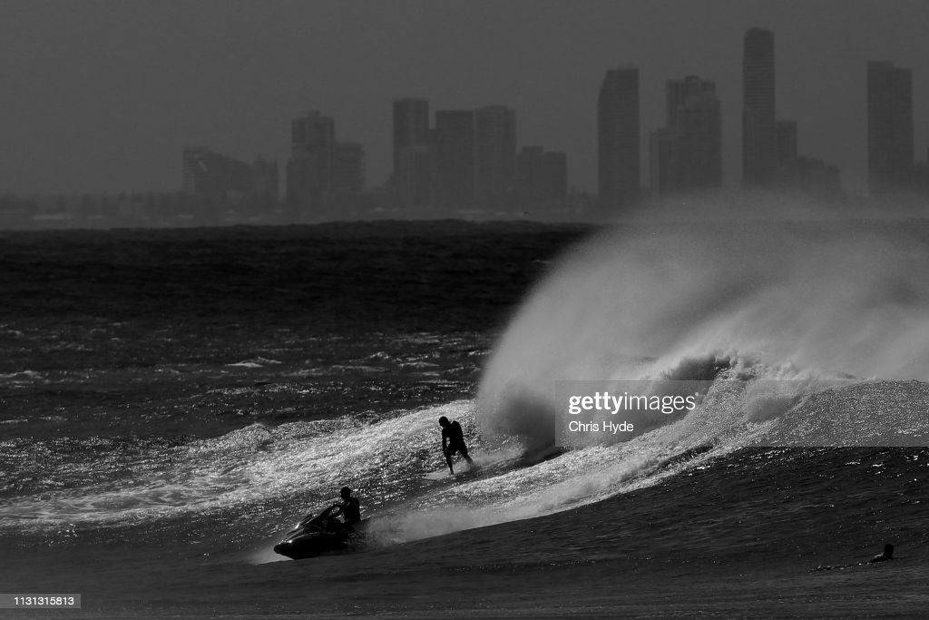 On February 22 2019 In Gold Coast Australia A Cyclone Watch Has News Photo Getty Images