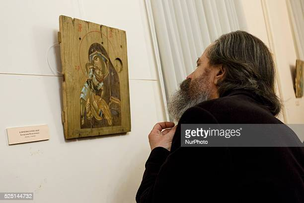 oN February 24 2015 n Kiev in the National Reserve quotSophiaquot the exhibition quoticon in the warquot Ukrainian artists presented orthodox icons...