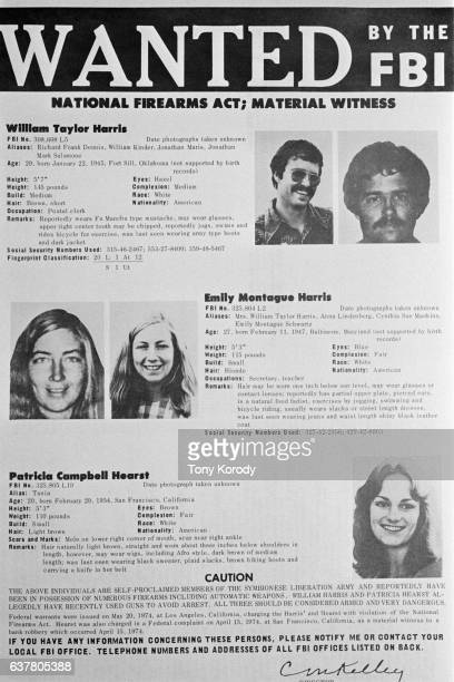 On February 4 the 19yearold Patricia Hearst granddaughter of publishing magnate William Randolph Hearst was kidnapped from her Berkeley California...