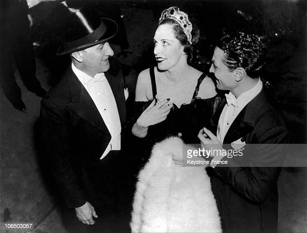 On February 8 The Crook Alexandre Stavisky'S Widow Getting On The Stage Of A Music Hall In New York Model When Starting Arlette Stavisky Was Implied...