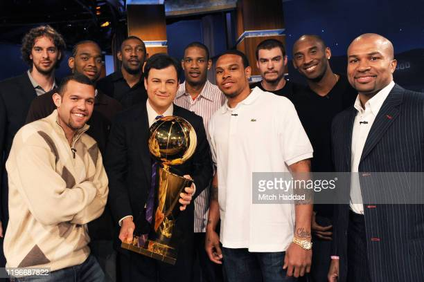 On Friday June 19 the 2009 NBA Finals MVP Kobe Bryant along with fellow team captain Derek Fisher and additional team members from the 2009 NBA...