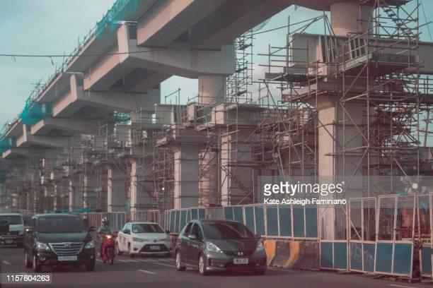 on going construction - região da capital - fotografias e filmes do acervo