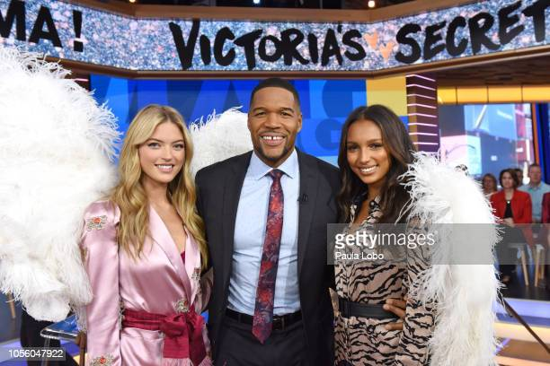 AMERICA On Good Morning America Thursday November 1 Victoria's Secret models Jasmine Tookes and Martha Hunt make a very special announcement The...