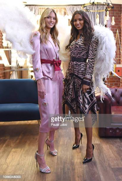 """On """"Good Morning America,"""" Thursday, November 1 Victoria's Secret models Jasmine Tookes and Martha Hunt make a very special announcement: The..."""