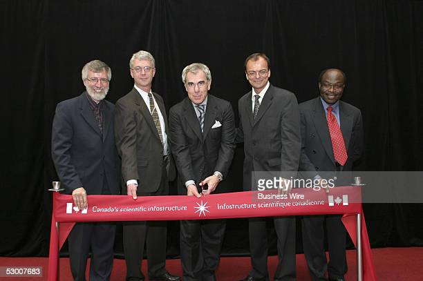 On hand in Ottawa to deploy Endeavor for Journals Onsite at the Canada Institute for Scientific and Technical Information are Bernard Dumouchel...