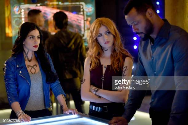 SHADOWHUNTERS 'On Infernal Ground' In the season three premiere secrets abound as the Shadowhunters and Downworlders try to get back to normal after...
