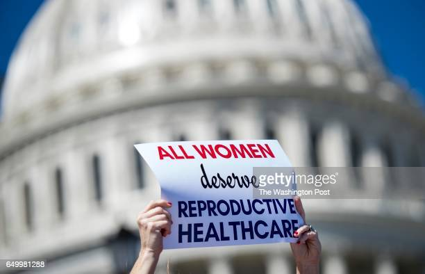 WASHINGTON DC On International Women's Day and A Day Without Women the Democratic female Representatives of US House led by House Democratic Minority...