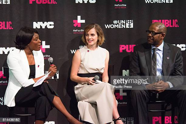 JOE'S PUB NEW YORK NY UNITED STATES On International Women's Day NYC First Lady Chirlaine McCray UN Women Executive Director Phumzile MlamboNgcuka...