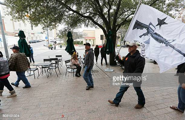 On January 1 the open carry law took effect in Texas and 2nd Amendment activists held an open carry rally at the Texas state capitol on January 1...
