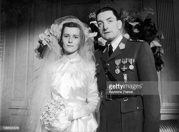 On January 2 1946 General De Gaulle'S Daughter Married With Captain De Boissieu Squadrons Chief 2Nd Db Former Officer And Member Of De Gaulle...