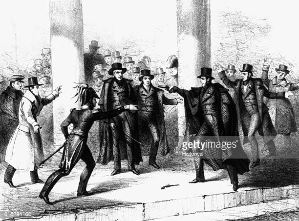 On January 30 Richard Lawrence attempted to assassinate President Andrew Jackson as he was leaving the Captiol as part of the funeral procession of...