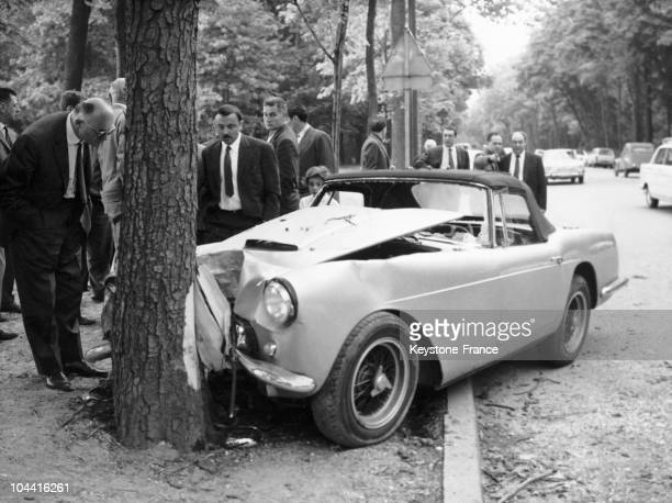On July 5 the Dominican playboy Porfirio RUBIROSA a former ambassador and racecar driver died in this FERRARI in the allee de la Marguerite at the...