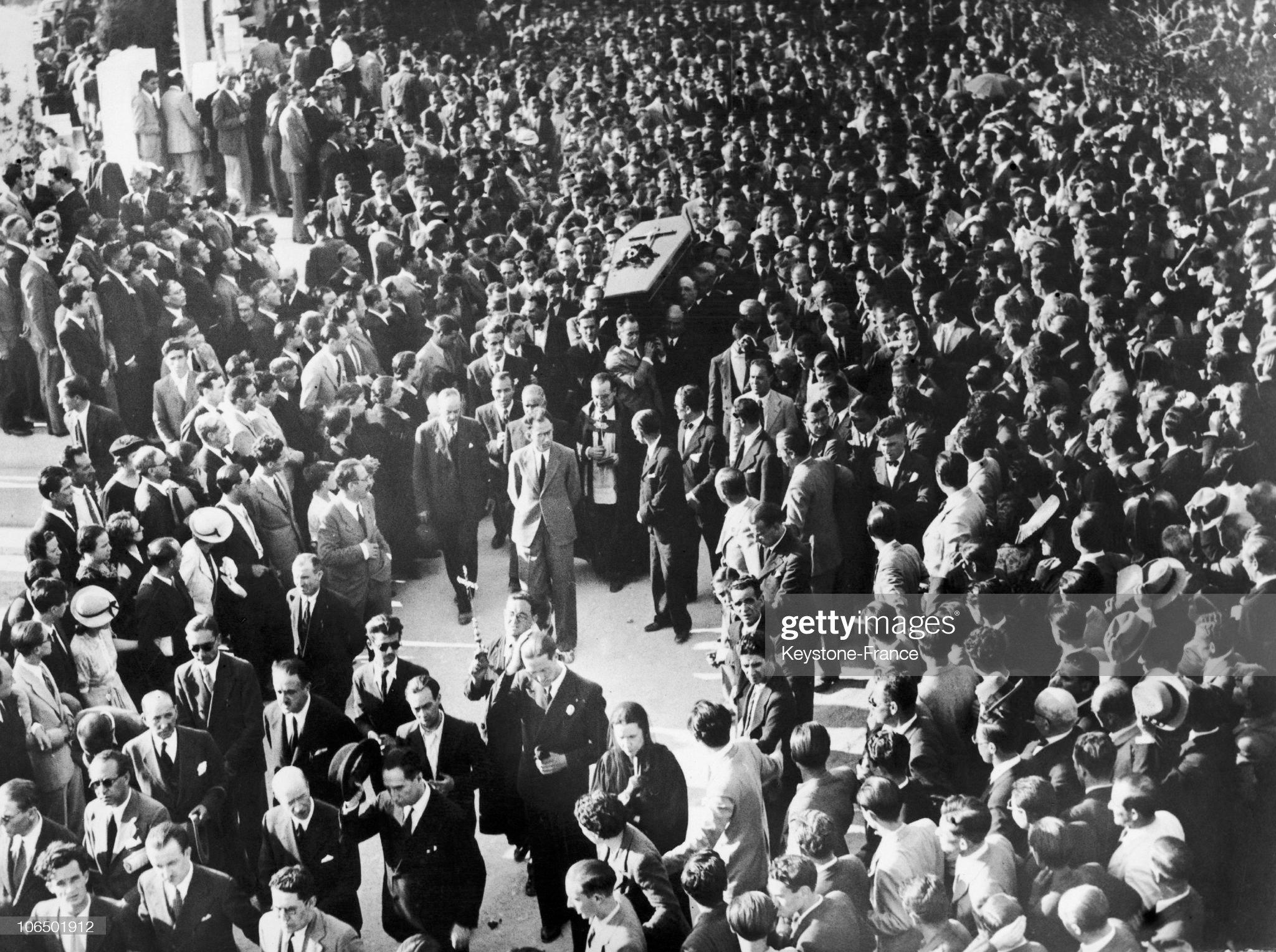 Monarchist Calvo Sotelo'S Funeral In 1936 : Fotografía de noticias