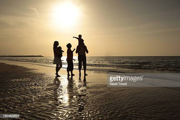 on jumeirah beach, dubai. - five people stock pictures, royalty-free photos & images