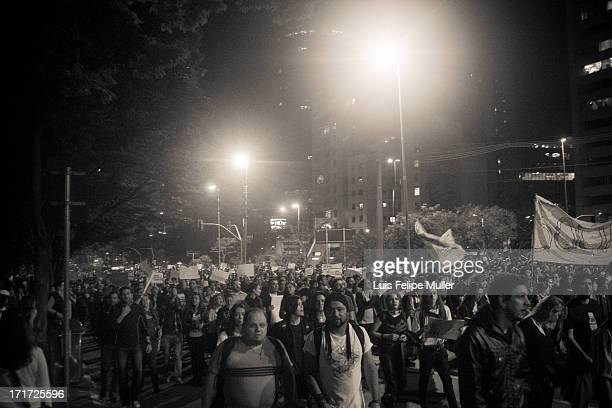 On June 17th 2013 an estimated 65,000 people marched through São Paulo streets to voice a range of frustrations, from failing health and education...