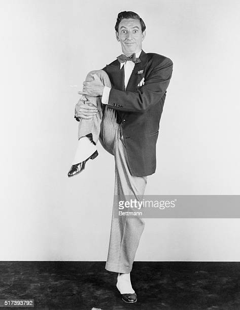 On Land As In The Air. High flying Ray Bolger is America's most agile musical comedy dancing star and these pictures prove it. Some of his routines...