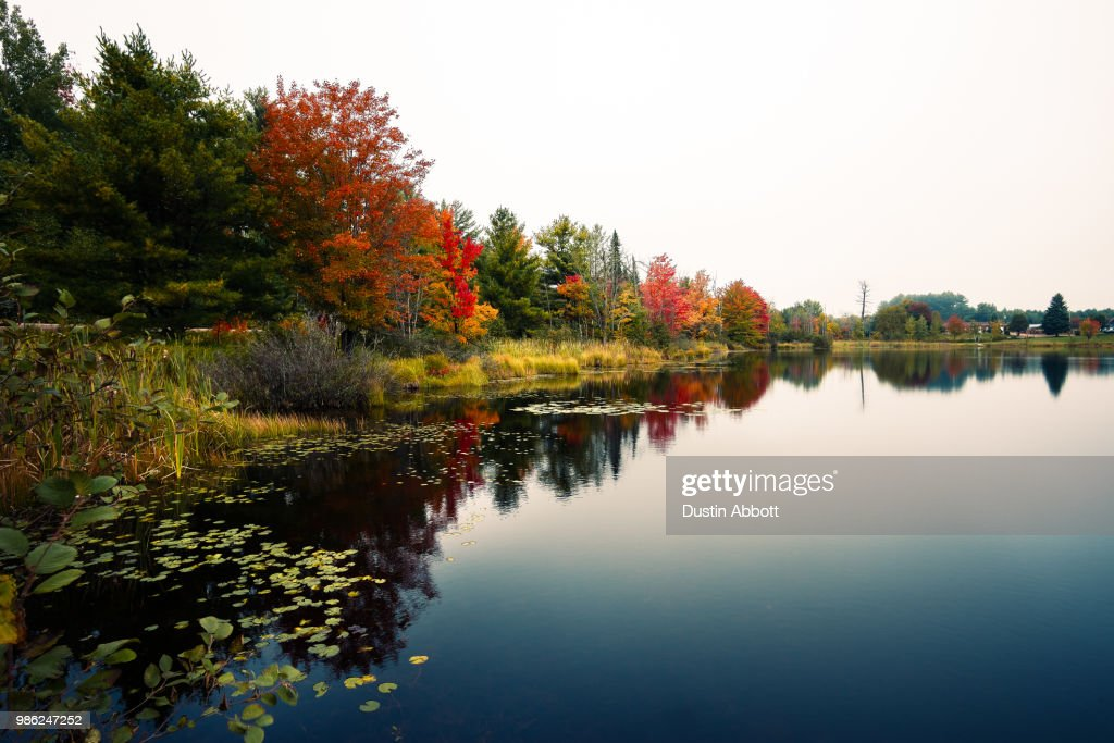 On Lempke Lake : Stock Photo