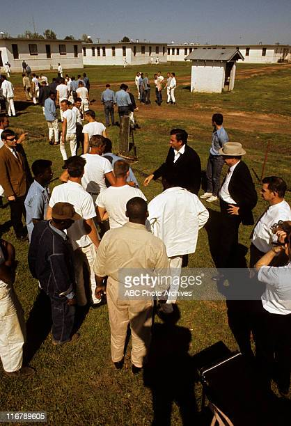 SHOW On Location at Cummins Prison Farm Arkansas Shoot Date April 10 1969 JOHNNY CASH SHAKING