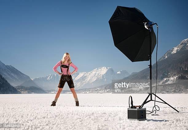Vor Ort-Fotografie, Outdoor-Mode-Shooting (XXXL