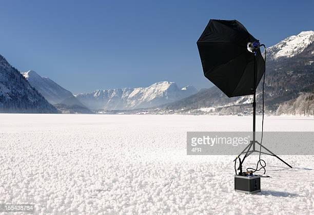 Vor Ort Fotografie, tragbaren USB-Geräte