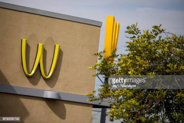 On Long Beach Boulevard at Imperial Highway the only McDonald's franchise in the US owned by Patricia Williams and her daughters Kerri HarperHowie...